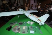 2017年6月、韓国の江原道で発見された北朝鮮の無人機(デイリーNK)