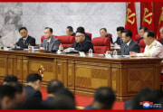 金正恩氏が朝鮮労働党中央委第8期第3回総会を指導した(2021年6月16日付朝鮮中央通信)