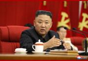 朝鮮労働党中央委第8期第3回総会第3日会議(2021年6月18日付朝鮮中央通信)