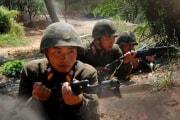 朝鮮人民軍の兵士(ウェブサイト「朝鮮の今日」)