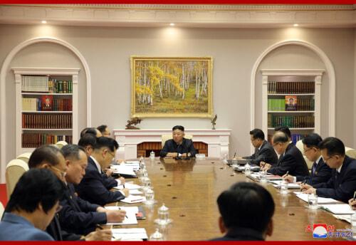 朝鮮労働党中央委第8期第3回総会第2日会議(2021年6月17日付朝鮮中央通信)