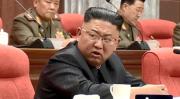幹部の怠慢を批判する金正恩氏(朝鮮中央テレビ)