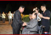 金正恩氏が第7回老兵大会に参加し演説した(2021年7月28日付朝鮮中央通信)