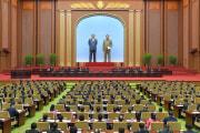 北朝鮮で28日に開催された最高人民会議第14期第5回会議(2021年9月29日付労働新聞)