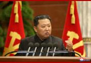 金正恩氏が労働党第8期第3回拡大会議を指導した(2021年9月3日付朝鮮中央通信)