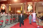 11日に開幕した国防発展展覧会「自衛ー2021」(2021年10月12日付朝鮮中央通信)