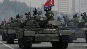 朝鮮人民軍の戦車部隊